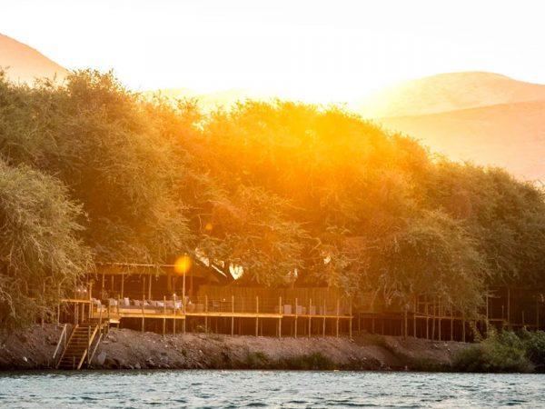 Serra Cafema Camp Sunset View