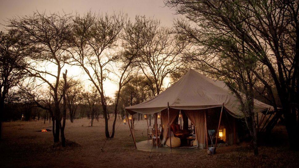 Alex Walker's Serian's Nkorombo Mobile Camp