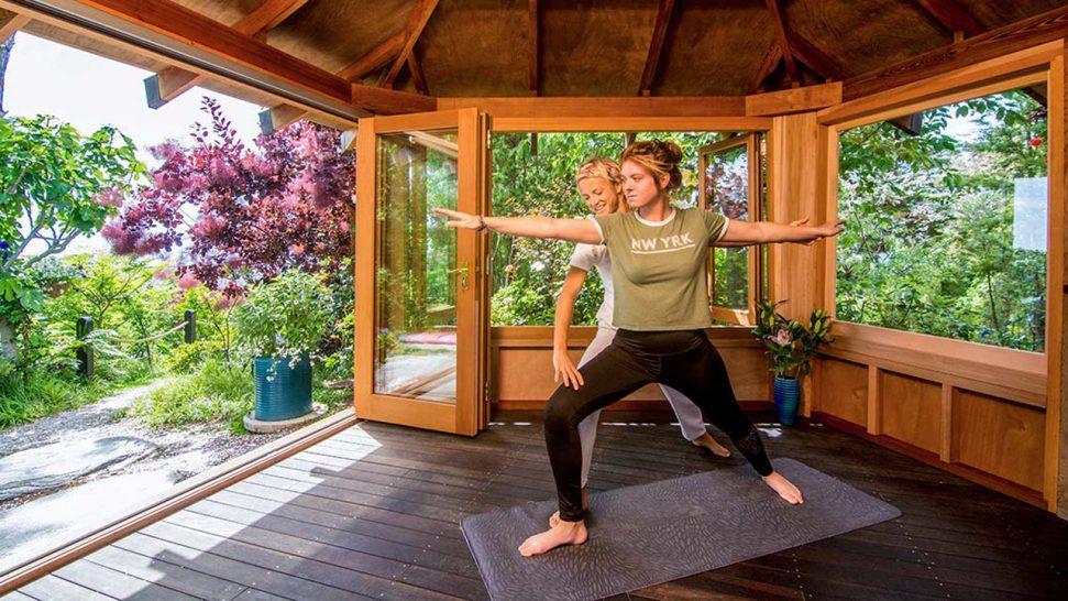 Split Apple Retreat Yoga