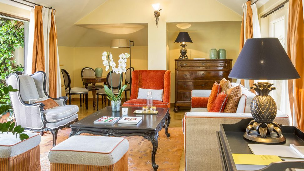 The Albereta Relais And Chateaux Suite Bellavista