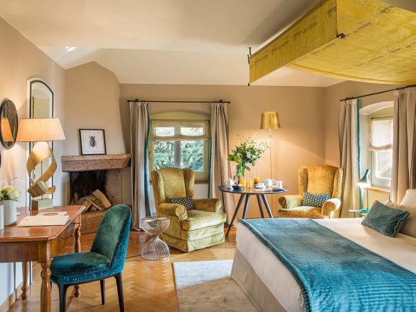 The Albereta Relais and Chateaux Deluxe Rooms