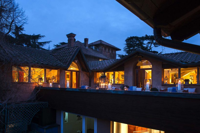 The Albereta Relais and Chateaux Greeneige Lounge
