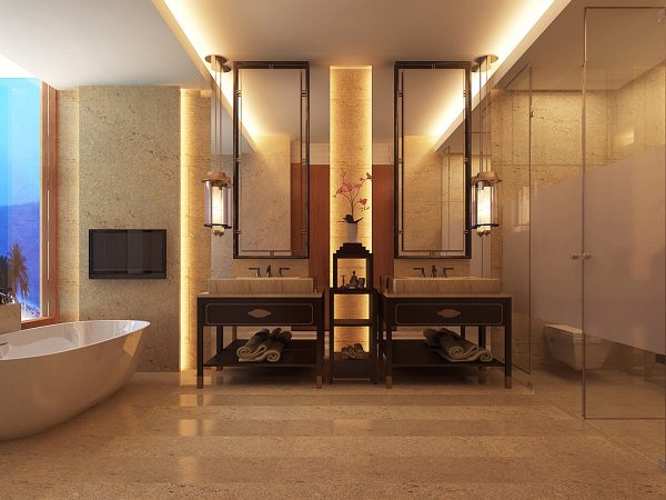 The Apurva Kempinski Bali Bathroom