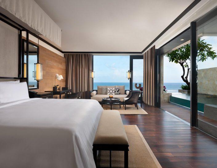 The Apurva Kempinski Bali Cliff Private Pool Ocean Junior Suite