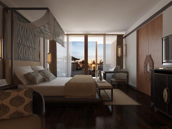The Apurva Kempinski Bali Grand Deluxe Ocean Court Room