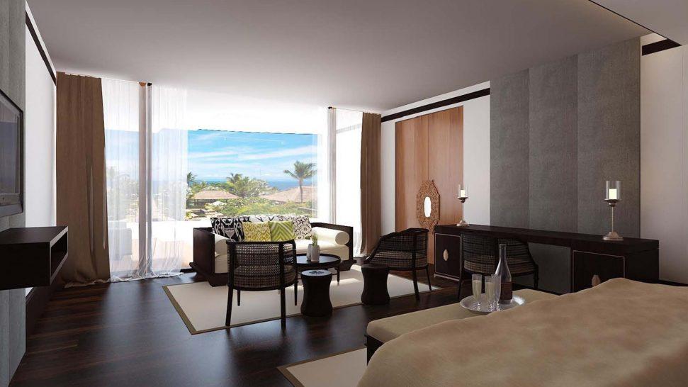The Apurva Kempinski Bali Ocean Front Prestige Suite
