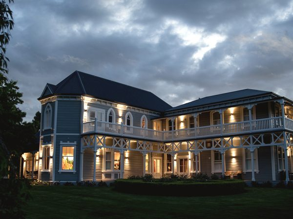 The Marlborough Lodge Night View