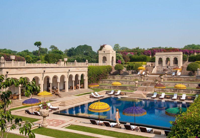 The Oberoi Amarvilas Agra pool