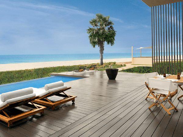 The Oberoi Beach Resort Al Zorah Beach View
