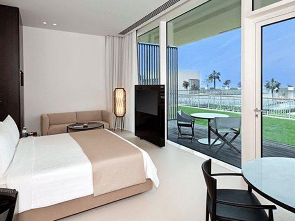 The Oberoi Beach Resort Al Zorah Deluxe Suites with Private Terrace