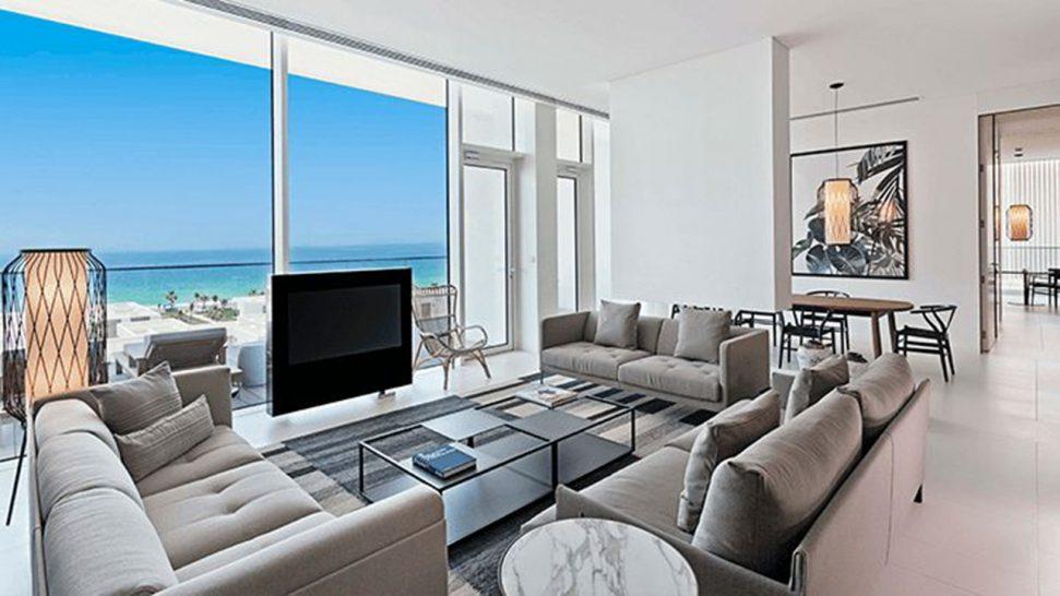 The Oberoi Beach Resort Al Zorah Kohinoor Suites with Private Terrace