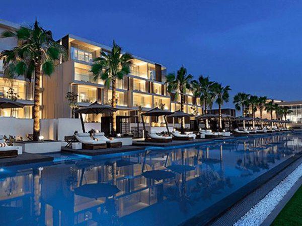 The Oberoi Beach Resort Al Zorah The Poolside Lounge