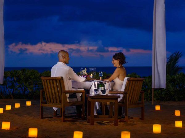 The Oberoi Beach Resort Bali Exotic Candlelit Dinner