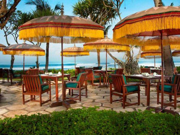The Oberoi Beach Resort Bali Frangipani Cafe
