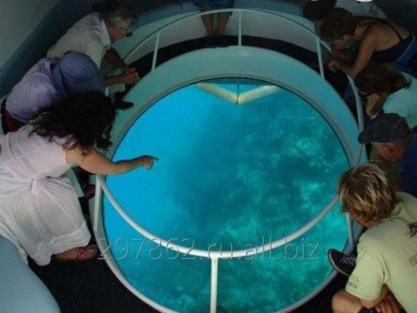 The Oberoi Beach Resort Bali Glass Bottom Boat Ride