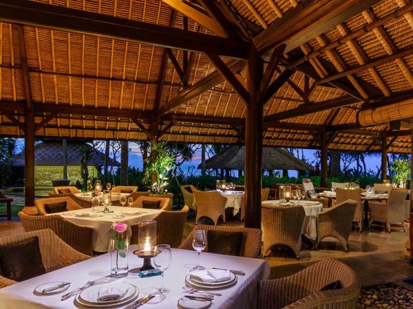 The Oberoi Beach Resort Bali Kura Kura Restaurant