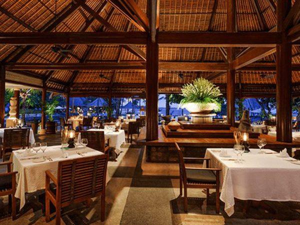 The Oberoi Beach Resort Lombok Lumbung Restaurant