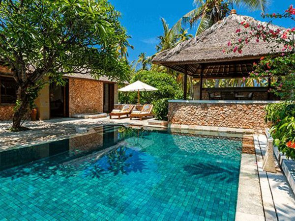 The Oberoi Beach Resort Lombok Luxury Villa Garden View with Private Pool