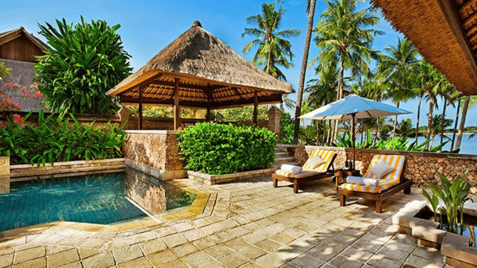 The Oberoi Beach Resort Lombok Luxury Villa Ocean View with Private Pool