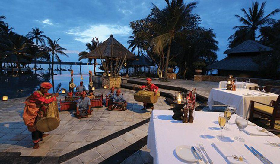 The Oberoi Beach Resort Lombok The Amphitheatre