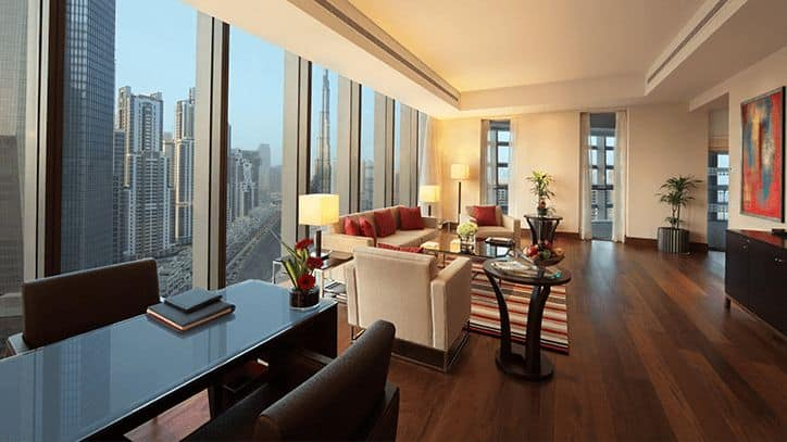 The Oberoi, Dubai Luxury Suites with Private Balcony
