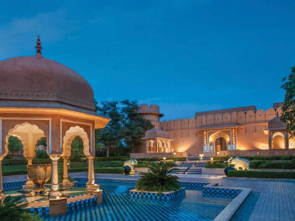 The Oberoi Rajvilas Jaipur Hotel View