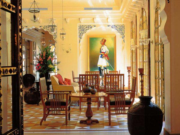 The Oberoi Rajvilas Jaipur Lobby
