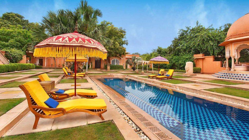 The Oberoi Rajvilas Jaipur Luxury Villas with Private Pool