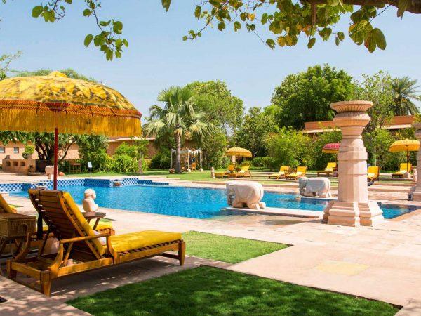 he Oberoi Rajvilas Jaipur Pool