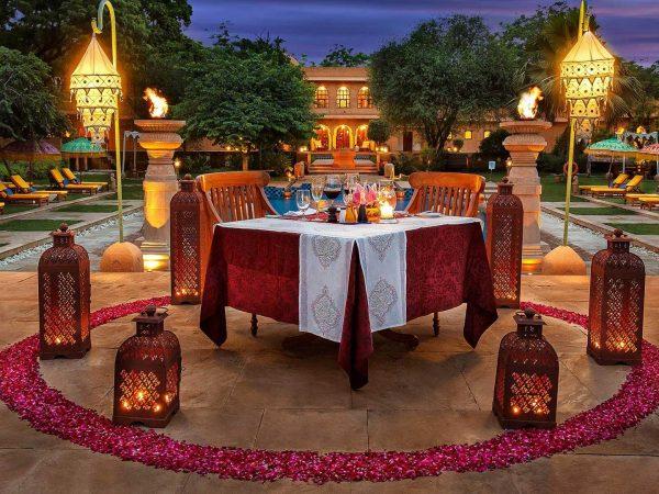 The Oberoi Rajvilas Jaipur Pool