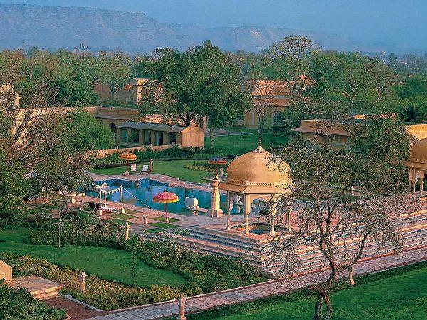The Oberoi Rajvilas Jaipur Top View