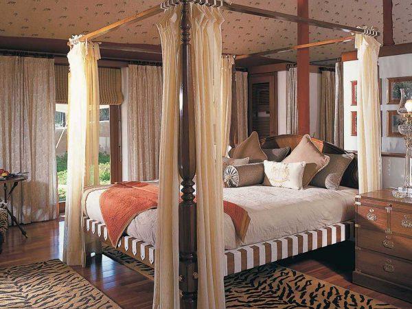 The Oberoi Vanyavilas Wildlife Resort Ranthambore Luxury Tent Bedroom