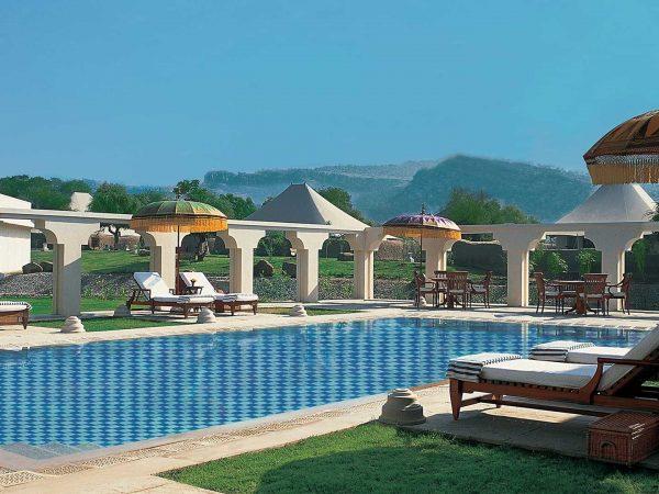 The Oberoi Vanyavilas Wildlife Resort Ranthambore Pool