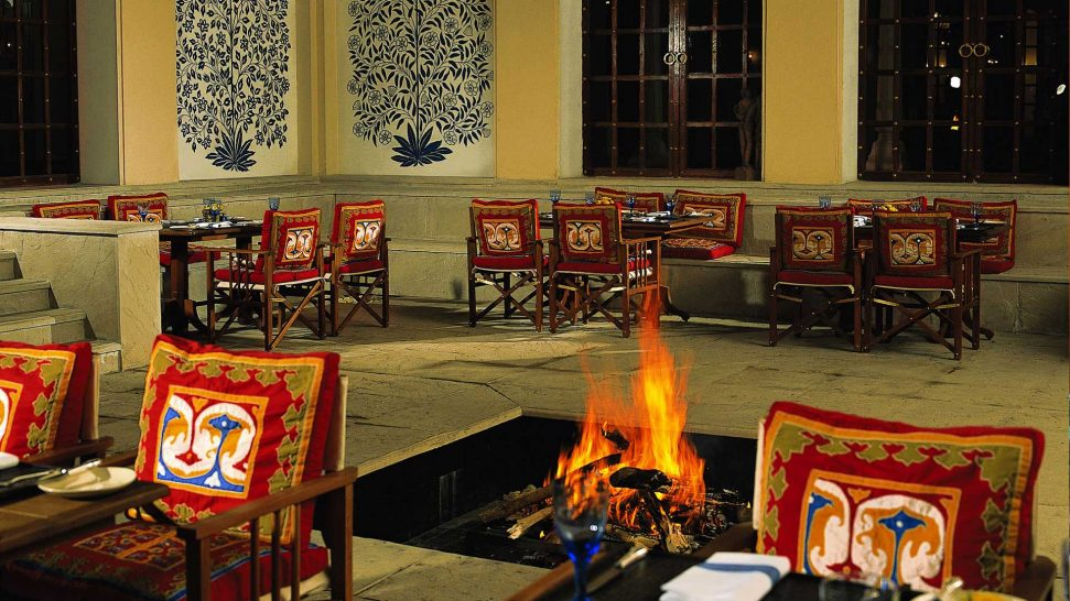 The Oberoi Vanyavilas Wildlife Resort Ranthambore The Dining Room