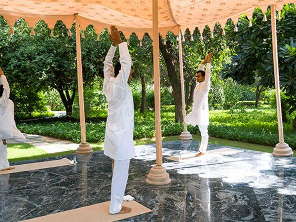 The Oberoi Vanyavilas Wildlife Resort Ranthambore Yoga
