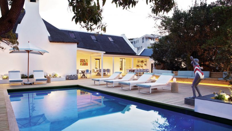 The Old Rectory Plettenberg Bay pool