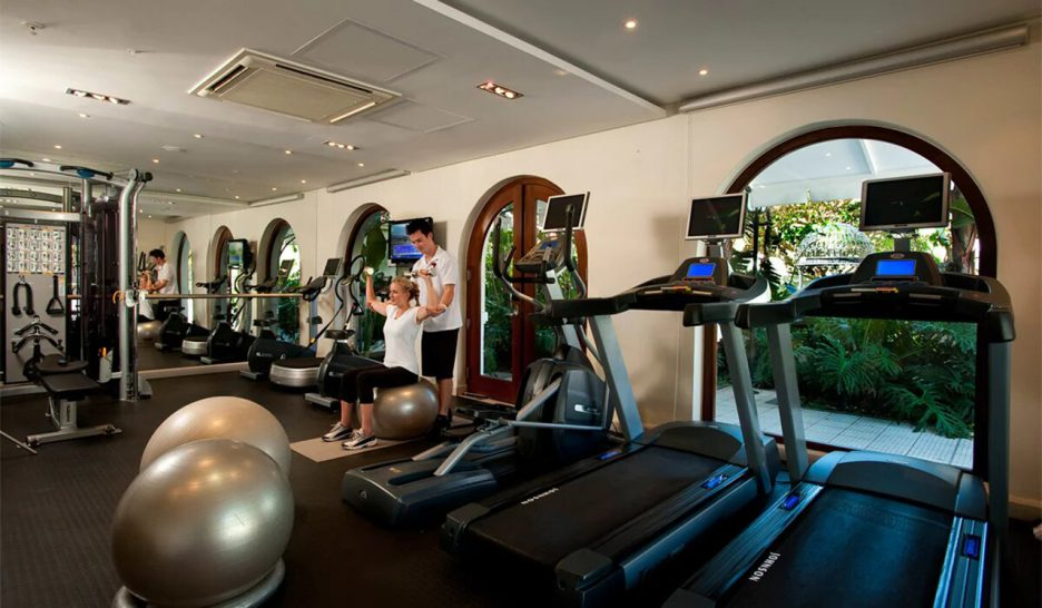 The Oyster Box Hotel Gym