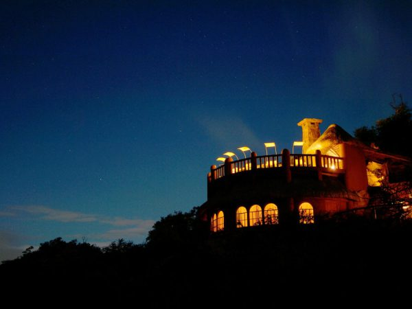 The Sanctuary at Ol Lentille Night