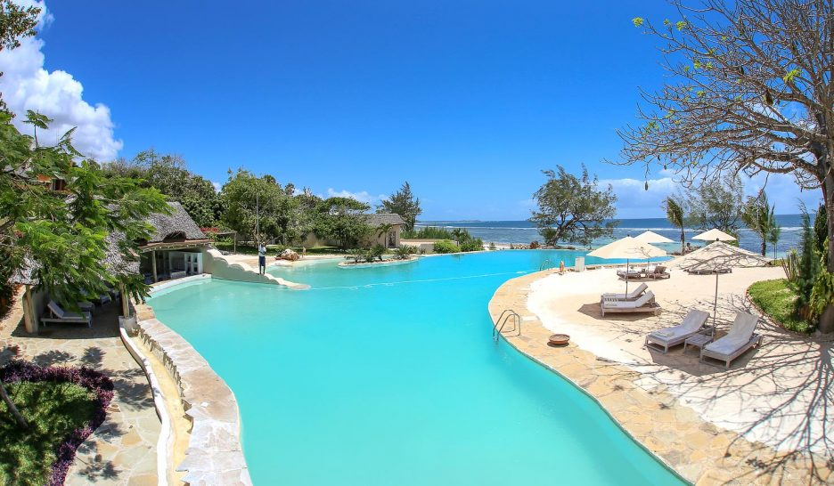 The ocean spa lodge kenya pool