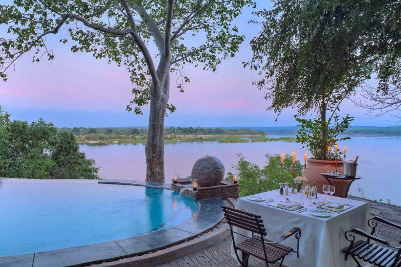 The river club livingstone zambia pool