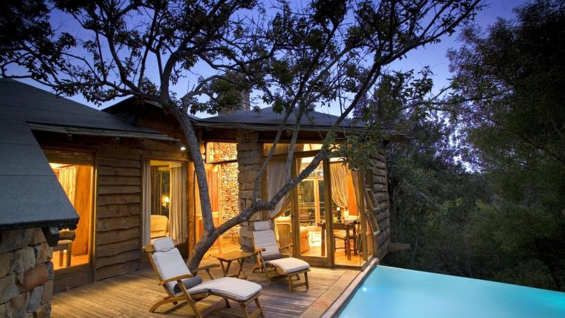 Tsala Treetop Lodge Pool