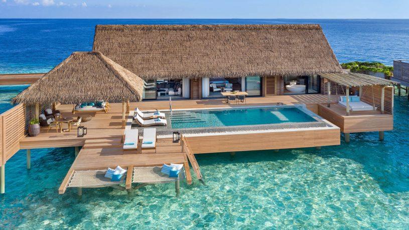 Waldorf Astoria Maldives Ithaafushi Grand Overwater Villa Exterior
