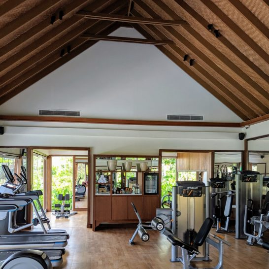 Waldorf Astoria Maldives Ithaafushi Gym