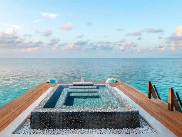 Waldorf Astoria Maldives Ithaafushi Jacuzzi
