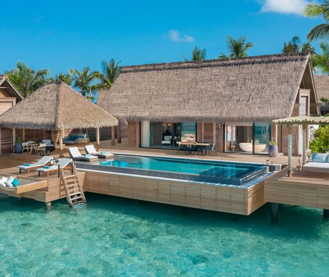 Waldorf Astoria Maldives Ithaafushi King Reef Villa With Pool