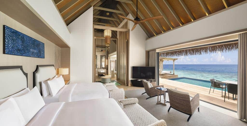Waldorf Astoria Maldives Ithaafushi Overwater Pool Villa