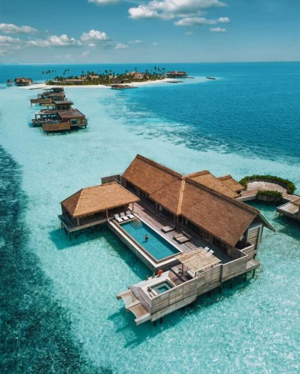 Waldorf Astoria Maldives Ithaafushi Two Bedroom Overwater Villa with Pool
