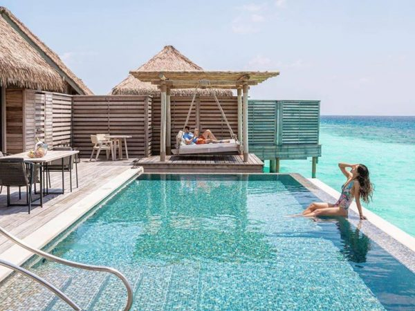 Waldorf Astoria Maldives Ithaafushi Reef Villa Pool