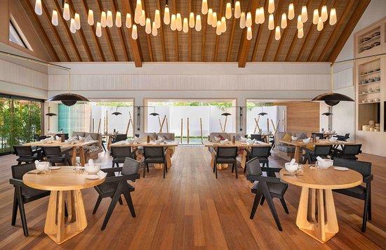 Waldorf Astoria Maldives Ithaafushi Tangled Restaurant