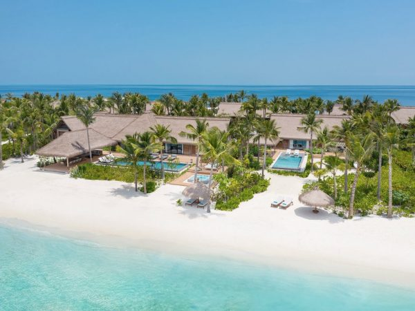 Waldorf Astoria Maldives Ithaafushi Three Bedroom Grand Beach Villa with Pool